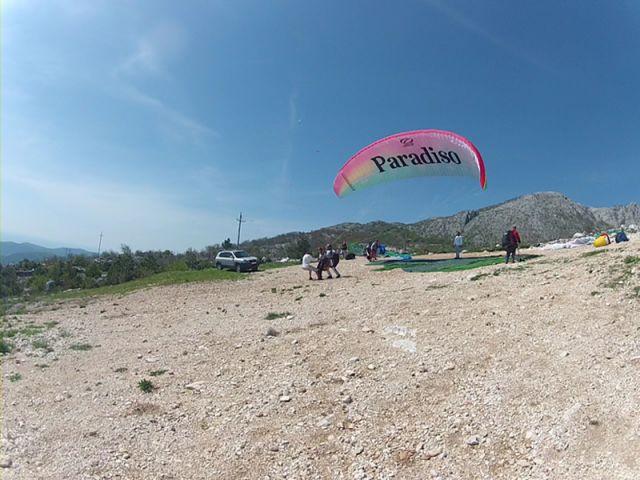 Paragliding Brajici