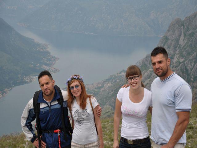 Paragliding Kotor