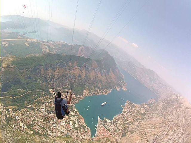 Paragliding Lovcen2