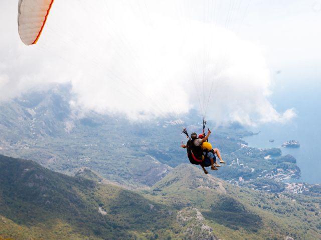 Tandem Flight Paragliding Montenegro2