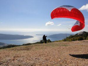 Paragliding-take off-Dizdarica
