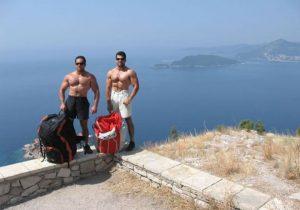 View on riviera of Budva Montenegro
