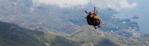 Tandem paragliding adrenaline flight Montenegro