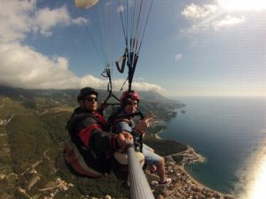 explore our offer paragliding tandem fly in Montenegro