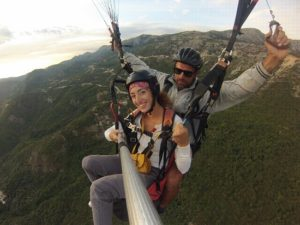 you can flight with us all-year-round-paragliding-budva-team