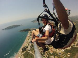 budva paragliding,you must try this when you come to Budva
