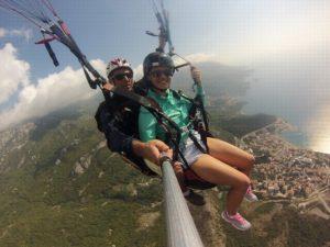 budva-paragliding-tandem -flight
