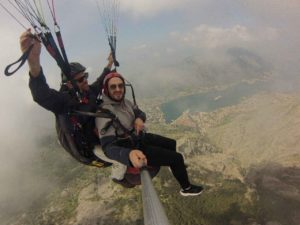 Thigs to do in Montenegro.Whether in summer or winter - paragliding in montenegro is an unforgettable experience that will enrich and make unforgettable your stay in Budva.