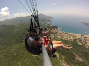 BOOK YOUR TANDEM FLIGHT IN MONTENEGRO ! Would you like to give your dearest friends a very special gift for their birthday, their name day, or any special occasion? Our company, Paragliding Montenegro, has just the right gift; a magical flight. It is a gift that will never be forgotten.