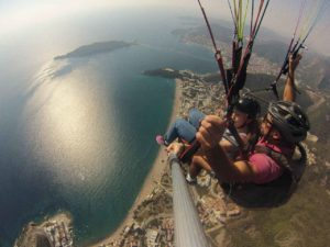 paragliding montenegro club, organize the greatest tandem flying adventures you can find, and guarantee that everyone will have a good time!