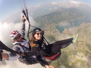 paragliding tandem kotor
