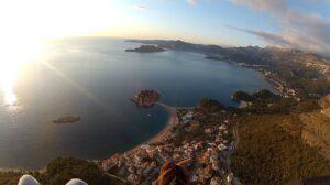 paragliding view St. Stefan