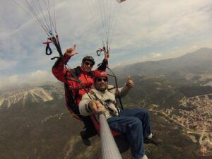 catch good photos during your paragliding flight