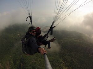 fogy days for flying above budva