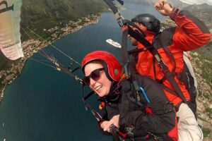 All paragliding tandem flights are also available as gift vouchers. A very popular gift, especially for birthdays or other celebrations.Call us today and book your budva paragliding flights