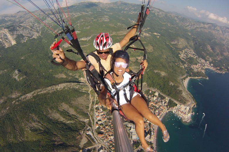 Here in mpntenegro generally we are very lucky with weather condition, Our beautiful mountains and stable weather conditions. give us a lot of opportunities to fulfill our flight dream in all seasons