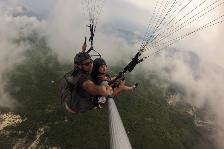 budva paragliding,things to do budva