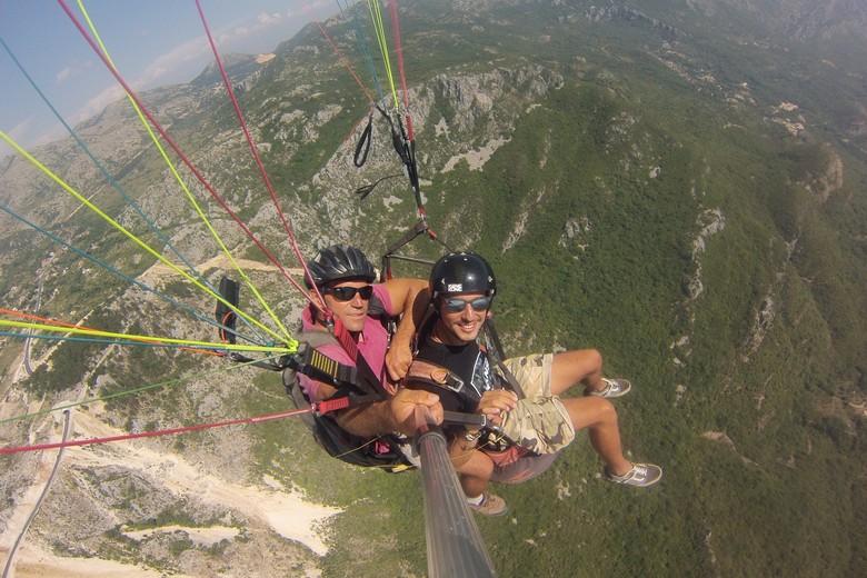 montenegro paragliding