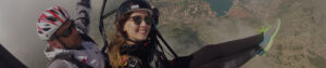 paragliding flight in montenegro kotor