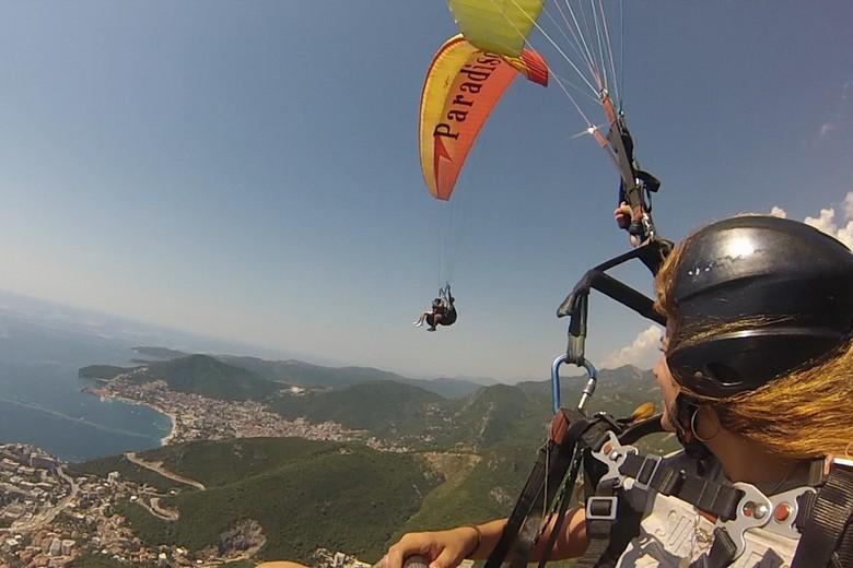 paragliding budva, gift voucher
