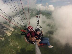 tandem paragliding budva