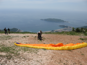 Montenegro paradise for paragliding