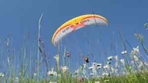 Paragliding Montenegro tandem flight