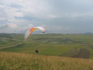 paragliding montenegro north region takeoff krnovo