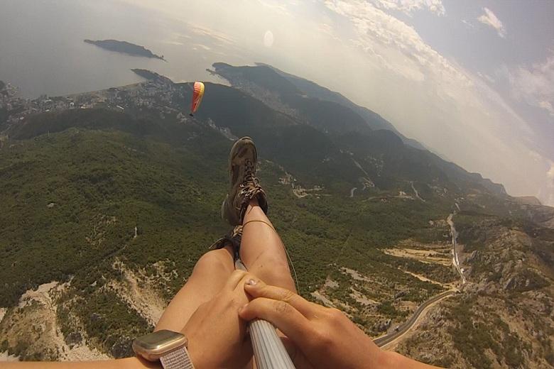 paragliding-flight-for-kids-montenegro-budva
